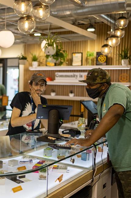 Marigold Dispensary Interior